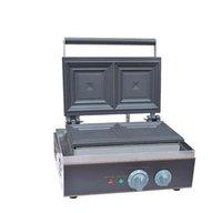 sandviç ücretsiz gönderim toptan satış-Ücretsiz kargo ~ 220 V 110 V Sandviç Makinesi Tost Ekmeği waffle baker