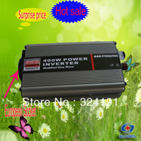 400W European Plug Modified Sine Wave Car Power Inverter USB, 12V DC bis 220V AC Power Car Converter