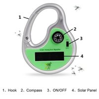 Wholesale Best Mosquito Killers - Best Portable Solar Powered Sonic Mosquito Killer Insect Repeller Pest Reject With Compass EcoFriendly Non-Toxic Mosquito Killer