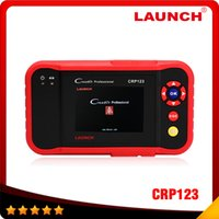 Wholesale gm abs - 2016 Top selling Launch CRP123 Update Online LAUNCH X431Creader CRP123 ABS, SRS, Transmission and Engine Code Scanner DHL free