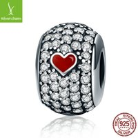 Wholesale Poker Jewelry Charms - Wholesale High Quality 925 Sterling Silver Sparkling Poker Bead Fit Original Pandora Charm Bracelet Jewelry Gift CQC153