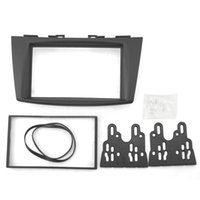 Compra Up Circonda-FEELDO Automobile per SUZUK Swift 2011 in su, Ertiga 2012 fino a 2 Din Radio DVD Stereo Pannello di montaggio del montante di montaggio Trim Kit Frame Surround Bezel 5101