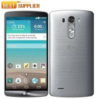 quad core 4g celulares al por mayor-LG G3 D850 / D855 / D851 teléfono celular GSM 3G4G Android Quad-core RAM 3GB / 2GB 5.5 13MP Cámara WIFI GPS 16GB Teléfono móvil Envío gratuito