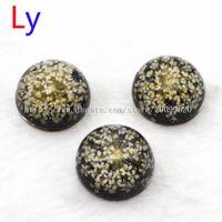 Wholesale Gypsophila Paniculata - 2016 Gypsophila paniculata Resin Snaps Button Jewelry Snap Jewelry 18mm Snap Button FOR Charm Snap Button Pulseira Feminina Bangle NR0035