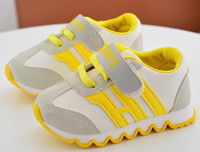 Wholesale baby girl hard bottom shoes resale online - Kids Sports Children s Canvas Shoes Boys Sneakers Antislip Soft Bottom Girls Running Shoes Color Baby Toddler Shoes