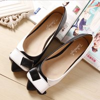 Woman Shoes Ballet Flat Shoes Laço Loafers Slip on Sandals Patchwork Bow Pointed Toe Slides Raso Zapatos Preto Damasco Rosa