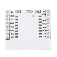 модуль esp8266 оптовых-Новый 1 х адаптер пластины для последовательного порта ESP8266 беспроводной модуль Wi-Fi ESP-07 12 12e Оптовая