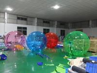 bolas de zorbing al por mayor-2M Bola de agua que camina Zorbing Bola de agua gigante Bola de Zorb Fútbol inflable Humano de agua de hámster