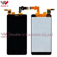 Wholesale Lcd Innos - 2pcs lot Wholesale Free Shipping For DNS S4503 S4503Q Innos i6 i6c Full LCD Display Touch Screen Glass Digitizer Assembly Replacement