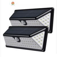 Wholesale Wholesale Lamp Prisms - New Prism 73 LEDs Solar PIR Lights 730LM Outdoor Waterproof Motion Sensor Solar Lamp LED Patio Lights Wall Security Lamp Garden Light