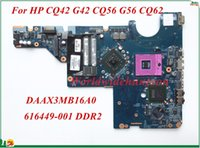 Wholesale G56 Motherboard - High Quality Motherboard 616449-001 For HP CQ42 G42 CQ56 G56 CQ62 Laptop Motherboard DAAX3MB16A0 PGA478 DDR2 100% Tested