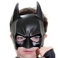 yetişkinler için siyah yarı maskeler toptan satış-2015 Gerçek Airsoft Maske Darth Vader Cadılar Bayramı Kostüm Partisi Maskesi Karikatür Simülasyon Erkek Yetişkinler Batman Siyah Plastik Ve ...