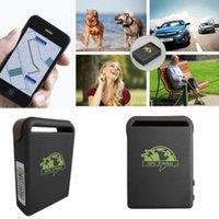 Wholesale Function Viewer - Car GPS Tracker GPS GSM TK102-2 Personal GPS Tracker With Shock Sensor Alarm Function+Flash Memory Card Slot