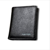 Wholesale Grain Photos - Top Grain Leather Wallets for Men Black Coffee Short Billeteras Driving License Purse with Card Position Factory Price