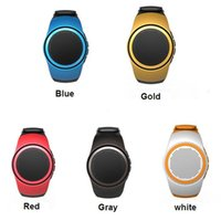 Wholesale Mini Speaker Good Bass - 2016 Hot B20 Mini Bluetooth Speaker Watch Speaker good Bass Smart Watch Bluetooth Wireless 3D Surround Sound Sport Speaker With TF Card