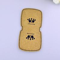 Wholesale Custom Jewelry Tags Cards - 100pcs lot 5.5*10 cm 2016 Newest Hot Blank Bracelet Card Jewelry Display Cards Bracelets Card Accept Custom Order