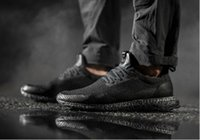 "Wholesale Running Reflective Bands - New Arrival HAVEN X ULTRA BOOST Uncaged ""TRIPLE BLACK"" Men Sneakers Cageless Reflective Toebox Black Women Running Shoes Footwear"