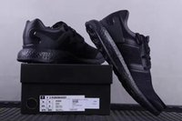 Wholesale High Women Shose - High Quality Y3 Pure Boost Core Black Sneaker Mens Running shose Outdoor Sports Women Y 3 Trainer size 36-45