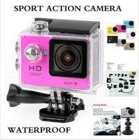 "Wholesale Dv D - Topjoy Wifi Sports Camera 1080P Full HD N9 Mini Action Sports DV 30M Waterproof 2"" Screen F2.0 4G 140 D Wide Angle DV Camcorder Multicolor"