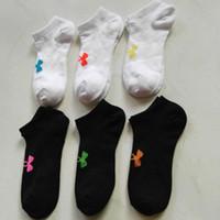 Wholesale Boys Athletic Shorts - Fashion Brand UA Men Ankle Socks Boys Girls UA Summer Sports Short Stockings Cotton Low-cut Socks Running Skating Sock for Women