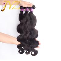 Wholesale Big Hair Weave - Big Sale! Top Quality Selling brazilian body wave hair Weaves Unprocessed Virgin Human Hair Extensions Brazilian Human Hair