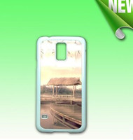 Wholesale Transparent Covers For S4 - 2D Sublimation blank plastic case cover skin For samsung S3 S4 S5 S6 S7 Mixed model with plates and glue free shipping 1000pcs