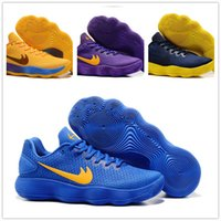 Wholesale Lining Tops Badminton - New Arrival Hyperdunk 2017 Lapel Paul George Weaving Men's Basketball Shoes for Top quality Olympic USA Fly line Sneakers Size 40-46