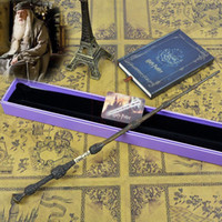 Wholesale Magic Wand For Kids - 1PCS New Harry Potter Dumbledore The Elder Magic Wand With Box Good Gift For Cosplay Free Shipping