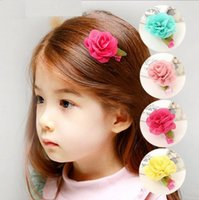 Wholesale Cheap New Babies Accessories - Explosion models ! New 2014 fashion cheap kids Baby accessories children girls hair ornaments hair bands hair clips flower