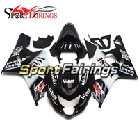 Wholesale West Motorcycle Body Kit - Injection Fairings For Suzuki GSXR600 GSXR750 K4 04 05 2004 2005 ABS Plastic Motorcycle Fairing Kit Bodywork Cowling Body Kit West Black