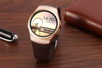 montres enfants gps achat en gros de-Nouveau ! Kw18 Bluetooth Smart Watch SmartWatch Téléphone support SIM TF Carte Fitness montre-bracelet pour apple samsung gear S2 huawei