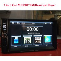 Wholesale Mmc Player - 2 Din Car Video Player 7 inch Touch Screen Radio Audio Stereo MP5 Player Support BT AUX FM USB SD MMC Remote Control