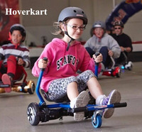 Wholesale Electric Scooter Kids - Hoverkart for 6.5, 8, 10 Inch Hoverboard Hoverseat New Design Smart Electric Scooter Go-Karting Karting Kart for Adults Kids
