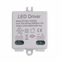 adaptador de corrente alternada 12v 36w venda por atacado-LED Driver Regulador de Tensão AC DC Adapter Driver LED 100-240V AC 50 / 60HZ Para 12V DC 6W / 10W / 12W / 15W / 18W / 24W / 30W / 36W / 48W / 50W / 60W