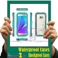 Atacado para o caso do iPhone EDGE 6s Samsung Galaxy S7 S7 Waterproof Case coloridos que nadam Desporto Caso Dustproof caso à prova de choque Underwater