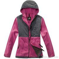 Wholesale Coat Warm Zip Up Outerwear - 2016 New Sale Womens Hoodies Winter Autumn Warm Fleece Cotton Coat Zip Up Outerwear Hooded Sweatshirts Sport Suit Casual Long Coat Jacket