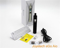 Wholesale Ego Coloured Battery - All-in-one style Device Original eGo AIO Kit With 2.0ml Capacity 1500mAh Battery Anti-leaking Structure Childproof Lock 7 colour LED light