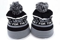 Wholesale Rugby Popular - 2018 new Wholesale winter Beanie Knitted Hats vans baseball football basketball beanies sports team Women Men popular fashion winter hat DHL