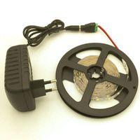 adaptör 45w toptan satış-Toptan eşya fiyat !!! 5 m 300 LEDs 2835 SMD LED şerit işık 2A ile 12 V Güç Adaptörü Kaynağı Yüksek Kalite UL ETL SAA CE ROHS onaylı