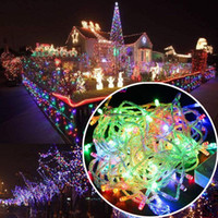 Wholesale Wholesale Decorations For Weddings - Led string Christmas crazy selling 10M PCS 100 LED string Decoration Light 110V 220V For Party Wedding led Christmas twinkle lighting