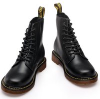 Wholesale Thanksgiving Plus Size Tops - Fashion Winter Leather 1460 martin Boots Fur Martin High Top Casual Shoes Men's Boots Ankle Botas Brand Motorcycle Boots Plus Size