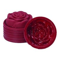 Wholesale 3d Silicone Soap Molds Mould - Wholesale- The Kitchen Baking 3D Silicone Beautiful Rose Shape Fondant Cake Molds Soap Chocolate Mould