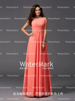 Wholesale Cheap Fast Hunter Green Dresses - New Arrival 2017 Cheap Bridesmaid Dresses A Line Cap Sleeves Lace Chiffon Long Formal Party Country Evening Dresses IN STOCK fast made