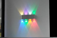 Wholesale LED wall lamp Stage sconce lamp disco KTV RGB wall lamp hotel wedding festival lighting decoration