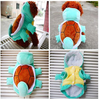 Wholesale Cute Funny Dog Clothes - Dog Winter Coat Cute Turtles Halloween Dogs Costume Clothing Winter Warm Dog Pet Coat Jacket Hoodie Fleece Funny Small Dog Chihuahua Clothes