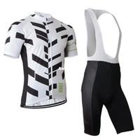 Wholesale Sky Tour France Jersey - 2015 Sky cycling jersey Bike Suit tour de france cycling wear short bib none bib suit white with black stripes cycling jerseys