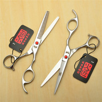 Wholesale 700 Pair cm Brand Kasho Hairdressing Scissors JP C Cutting Thinning Shears Professional Human Hair Scissors