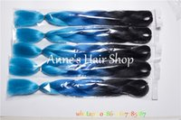 blue and blonde hair - packs quot navy blue braiding hair jumbo braid for making twist braids and box braids navy color