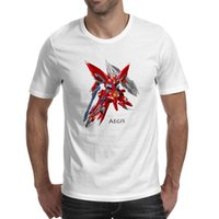 Wholesale Robot Wars Games - Japanese Anime Super Robot Wars T Shirt Classic Cartoon Game Printed T-shirt Style Cool Fashion Casual Novelty Funny Tshirt Men Women Tee