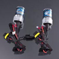 Wholesale Hid Xenon Flashlight 35w - 2pcs H7 35W 6000K HID Xenon H7 Replacement Bulb Lamps Light Conversion Kit Car Head Lamp Light Car Fog Flashlight DC 12V